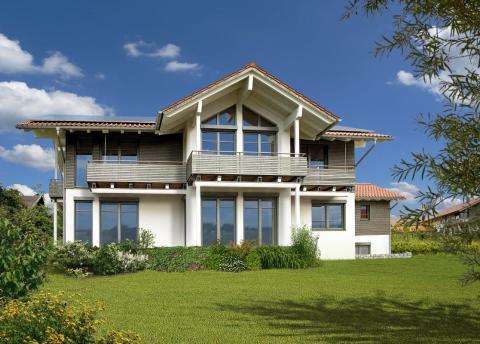 Chiemgauer Holzhaus baumesse com baumesse bauen wohnen renovieren energiesparen