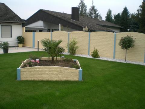 betonzäune | baumesse, Gartenarbeit ideen