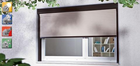 heim haus rollladen. Black Bedroom Furniture Sets. Home Design Ideas